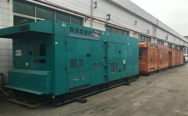 常州工厂发电机出租供电