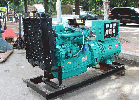 常州二手本田30kw小型柴油发电机组
