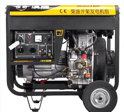 常州溧阳二手上柴5kw小型柴油发电机